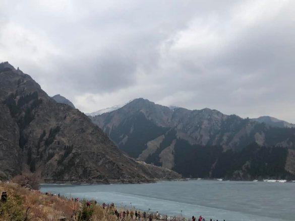 ezeras Kinijoje